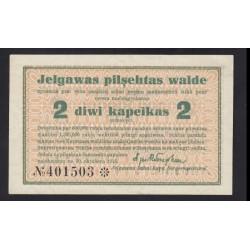2 kapeikas 1915 - Jelgawa