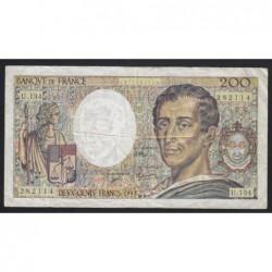 200 francs 1992