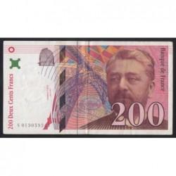 200 francs 1996