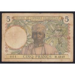 5 francs 1938