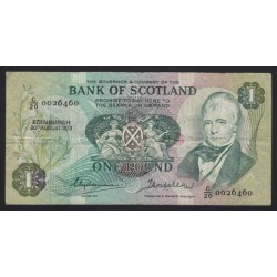 1 pound 1973 - Bank of Scotland
