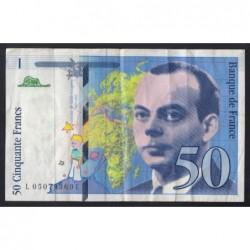 50 francs 1999