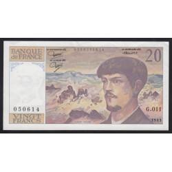 20 francs 1983