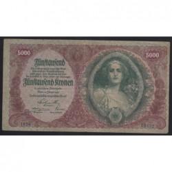 5000 kronen 1922