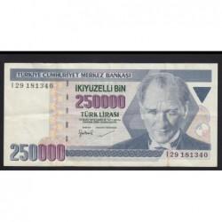 250.000 lira 1998