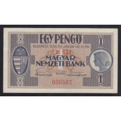 1 pengõ 1938x