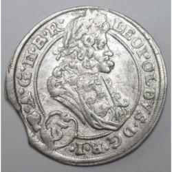 I. Lipót 3 krajcár 1696 C.B. - Brieg