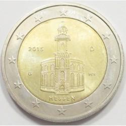 2 euro 2015 G - State of Hessen