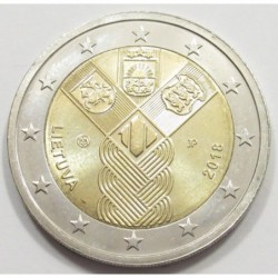 2 euro 2018 - centenary of independent Baltic States