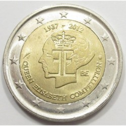 2 euro 2012 - 75th anniversary of Queen Elizabeth Music Competition