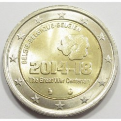 2 euro 2018 - 100th anniversary of the end of the WWI