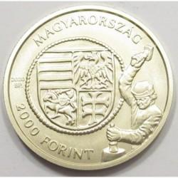 2000 forint 2020 - medieval Hungarian gold florins - Ulászló I.