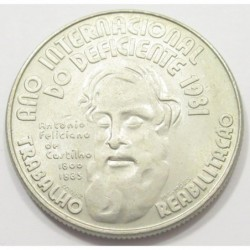 25 escudos 1984 - international year of disabled persons 1981