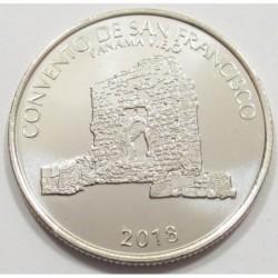 1/2 balboa 2018 - monumental historical set of Panama Viejo