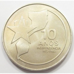 250 meticais 1985 - 10th anniversary of independence