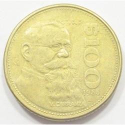 100 pesos 1985