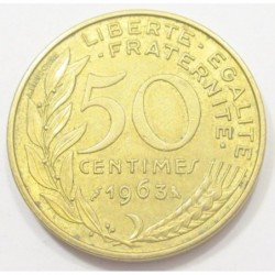 50 centimes 1963