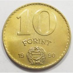 10 forint 1990