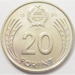 20 forint 1990