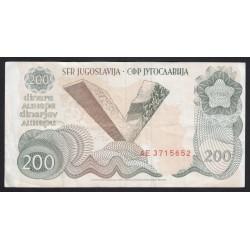 200 dinara 1990