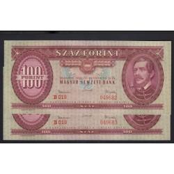 100 forint 1962 2x