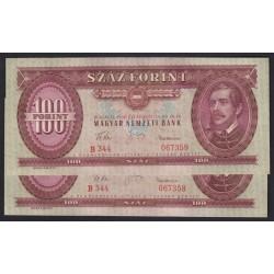 100 forint 1960 2x