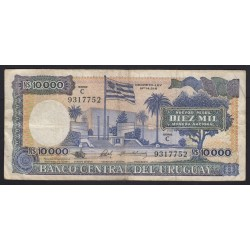 10000 nuevos pesos 1987
