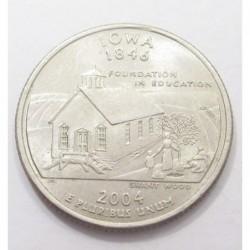 quarter dollar 2004 P - Iowa