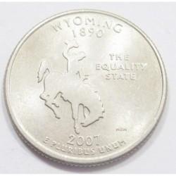 quarter dollar 2007 P - Wyoming