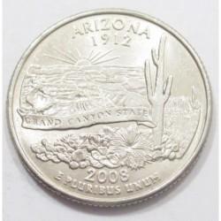 quarter dollar 2008 P - Arizona