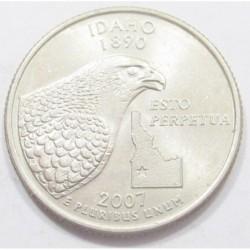 quarter dollar 2007 P - Idaho