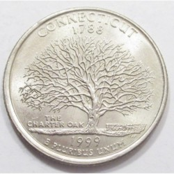 quarter dollar 1999 P - Connecticut