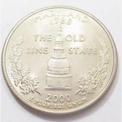 quarter dollar 2000 P - Maryland