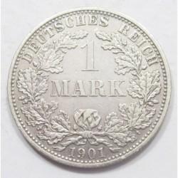 1 mark 1901 A