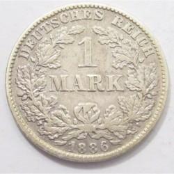 1 mark 1886 E