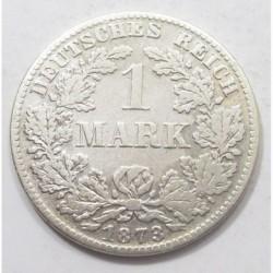 1 mark 1873 D