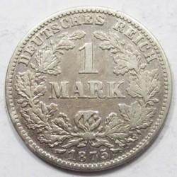 1 mark 1875 G