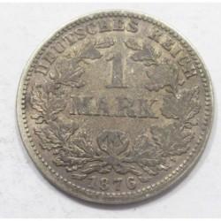 1 mark 1876 J