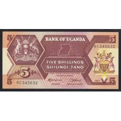 5 shillings 1987