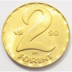 2 forint 1990