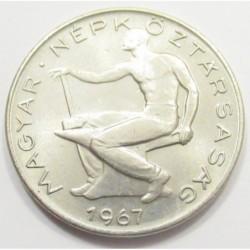 50 fillér 1967 - Kabinet restrike