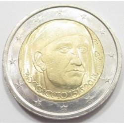 2 euro 2013 - Birth of Giovanni Boccaccio