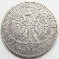 10 zlotych 1932