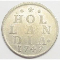1 duit 1747
