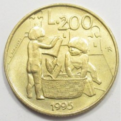 200 lire 1995 - Civil commitment