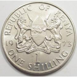 1 shilling 1973