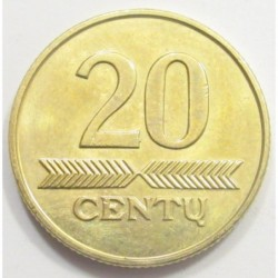 20 centu 2009