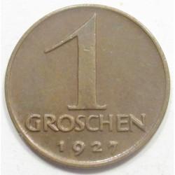 1 groschen 1927