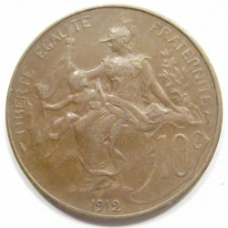 10 centimes 1912