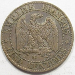 5 centimes 1864 BB